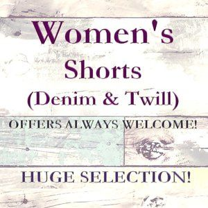 HUGE SELECTION of Women's Jean & Twill Shorts